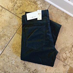 LOFT Cropped Corduroy Pants
